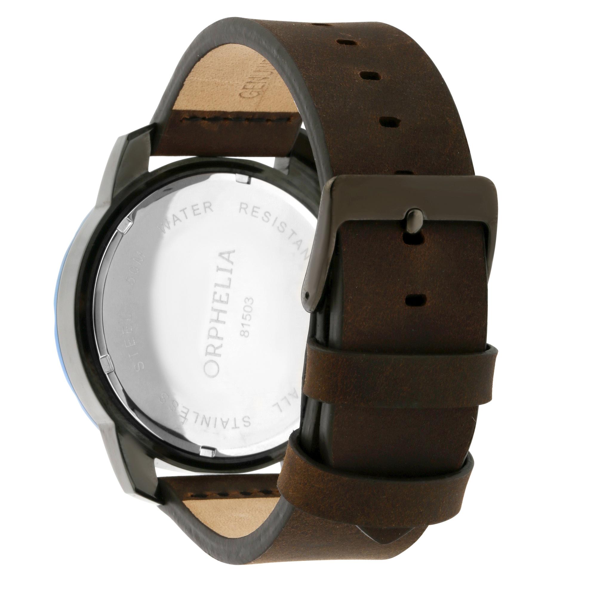 Senses Herren Or81502 Chronograph Orphelia Five Armbanduhr Details Zu dxCQtshr