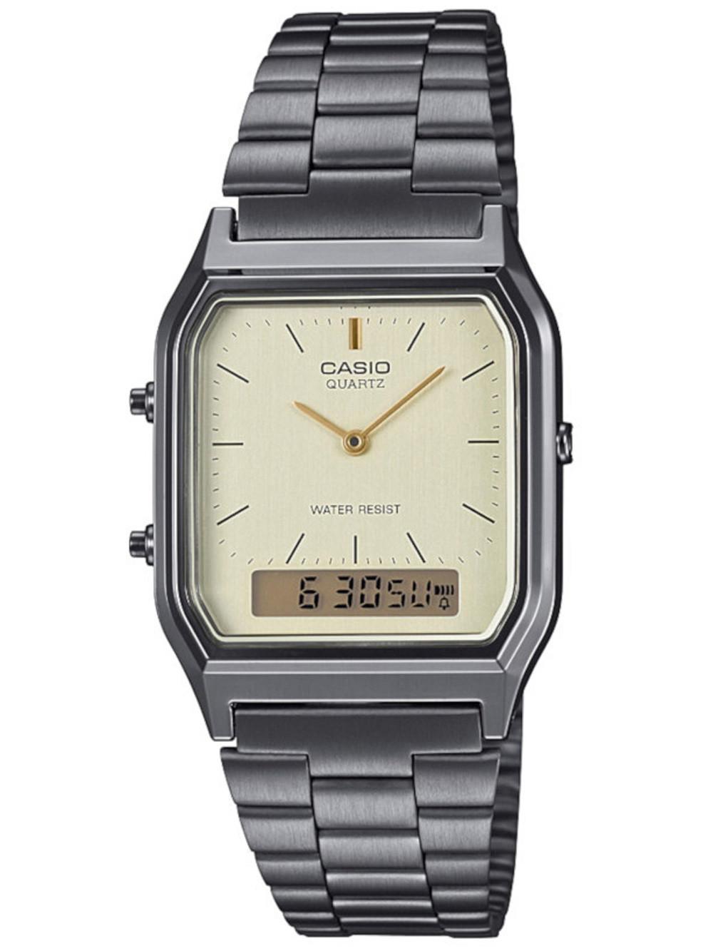 NEW Casio Grey Analogue-Digital Women Watch Casio Collection